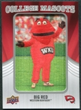 2012 Upper Deck College Mascot Manufactured Patch #CM58 Big Red A