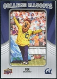 2012 Upper Deck College Mascot Manufactured Patch #CM12 Oski A