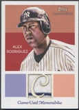 2010 Topps National Chicle #AR Alex Rodriguez Jersey Umbrella Black Back #02/25