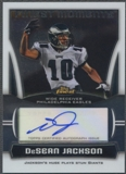 2010 Finest Moments #DJ DeSean Jackson Auto