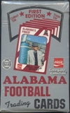 1990 Collegiate Collection Alabama Football Hobby Box
