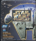 Star Wars Vehicles Box (1997 Topps)