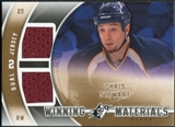 2011/12 Upper Deck SPx Winning Materials #WMCS Chris Stewart E