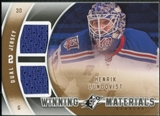 2011/12 Upper Deck SPx Winning Materials #WMHL Henrik Lundqvist D
