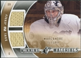 2011/12 Upper Deck SPx Winning Materials #WMMF Marc-Andre Fleury E