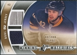 2011/12 Upper Deck SPx Winning Materials #WMNG Nathan Gerbe E