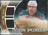 2011/12 Upper Deck SPx Winning Materials #WMPM Patrick Marleau E