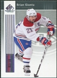 2011/12 Upper Deck SP Game Used Silver Spectrum #52 Brian Gionta /10