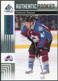2011/12 Upper Deck SP Game Used Silver Spectrum #158 Cameron Gaunce RC /10
