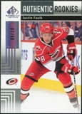 2011/12 Upper Deck SP Game Used Silver Spectrum #159 Justin Faulk RC /10