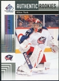 2011/12 Upper Deck SP Game Used Silver Spectrum #170 Allen York RC /10