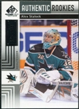 2011/12 Upper Deck SP Game Used #107 Alex Stalock /699