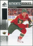 2011/12 Upper Deck SP Game Used #120 Brett Bulmer RC /699
