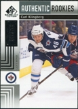 2011/12 Upper Deck SP Game Used #134 Carl Klingberg /699