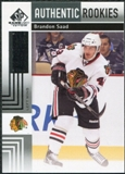 2011/12 Upper Deck SP Game Used #138 Brandon Saad RC /699