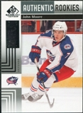 2011/12 Upper Deck SP Game Used #143 John Moore RC /699