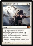 Magic the Gathering 2014 Single Devout Invocation - NEAR MINT (NM)