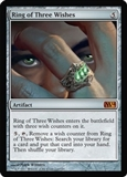 Magic the Gathering 2014 Single Ring of Three Wishes UNPLAYED (NM/MT)