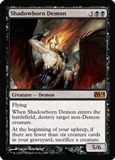 Magic the Gathering 2014 Single Shadowborn Demon UNPLAYED (NM/MT)