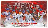 2014 Bowman Sterling Baseball Hobby Box