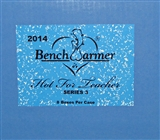 BenchWarmer Hot for Teacher Trading Cards Hobby 8-Box Case (2014)