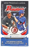 2014 Bowman Baseball Hobby Box
