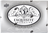 2014 Upper Deck Exquisite Golf Hobby Case - DACW Live 6 Spot Card Draft #2