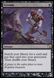 Magic the Gathering Graveborn Promo Single Entomb - SLIGHT PLAY (SP)