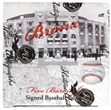 2014 Historic Autograph Five Boroughs Signed Baseball Edition Hobby Box