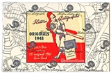 2014 HAC Originals 1941 Playball Cut Signature Baseball Hobby Box