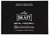 2014 Leaf Metal Draft Football Hobby Box