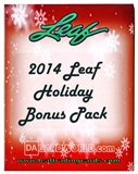 2014 Leaf Holiday Bonus Pack