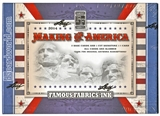 2014 Leaf Famous Fabrics Ink Making of America Hobby Box