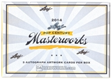 2014 Leaf Pop Century Masterworks Hobby Box