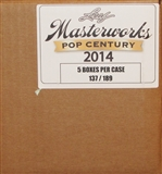 2014 Leaf Pop Century Masterworks Hobby 5-Box Case
