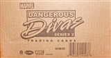 Marvel Dangerous Divas Series 2 Trading Cards 12-Box Case (Rittenhouse 2014)