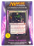 Magic the Gathering Commander Deck (2014) -  Sworn to Darkness (Black)