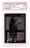 Magic the Gathering Promo Single Jace, the Living Guildpact SDCC Black Variant - PSA 9