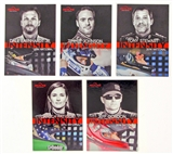 2014 Press Pass Redline Racing National Convention 5 Card Exclusive VIP Set