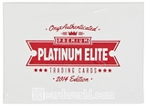 2014 Onyx Platinum Elite Baseball Hobby Box