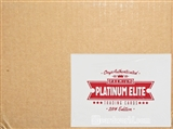 2014 Onyx Platinum Elite Baseball Hobby 24-Box Case