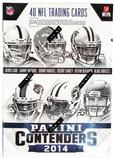 2014 Panini Contenders Football 5-Pack Box (Lot of 5)