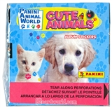 Cute Animals Sticker Pack Box (Panini 2012)