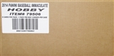 2014 Panini Immaculate Baseball Hobby 8-Box Case