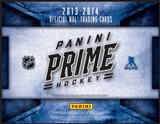 2013-14 Panini Prime Hockey Hobby Box (due July)