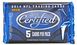 2014 Panini Certified Football Hobby Pack