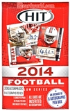 2014 Sage Hit Low Series Football Hobby Box