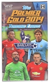 2014 Topps English Premier League Gold Soccer Hobby Mini-Box