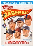 2014 Topps Heritage Baseball 8-Pack Box