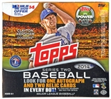 2014 Topps Series 2 Baseball Jumbo Box